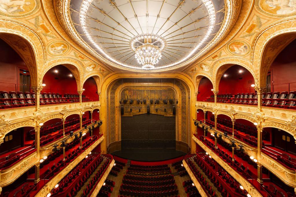 La salle du Théâtre du Châtelet